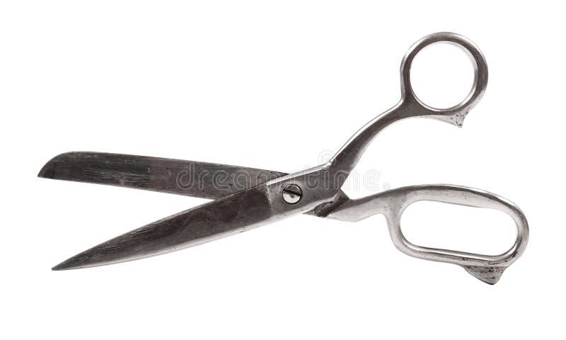 Ножницы металла изолированные на белизне стоковые изображения