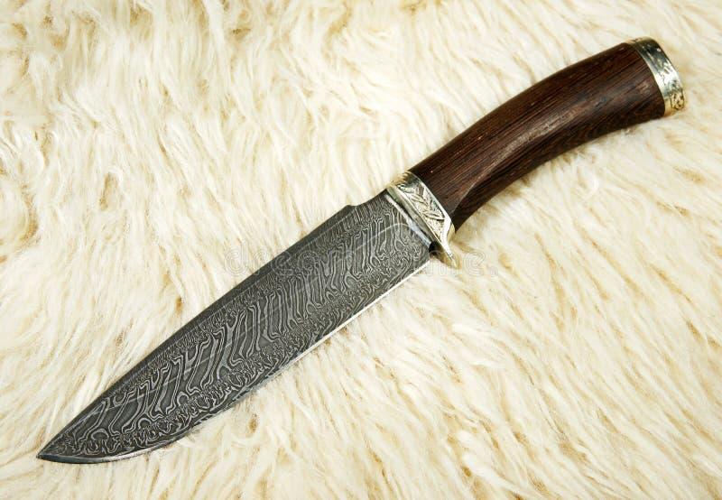 нож звероловства стоковое изображение