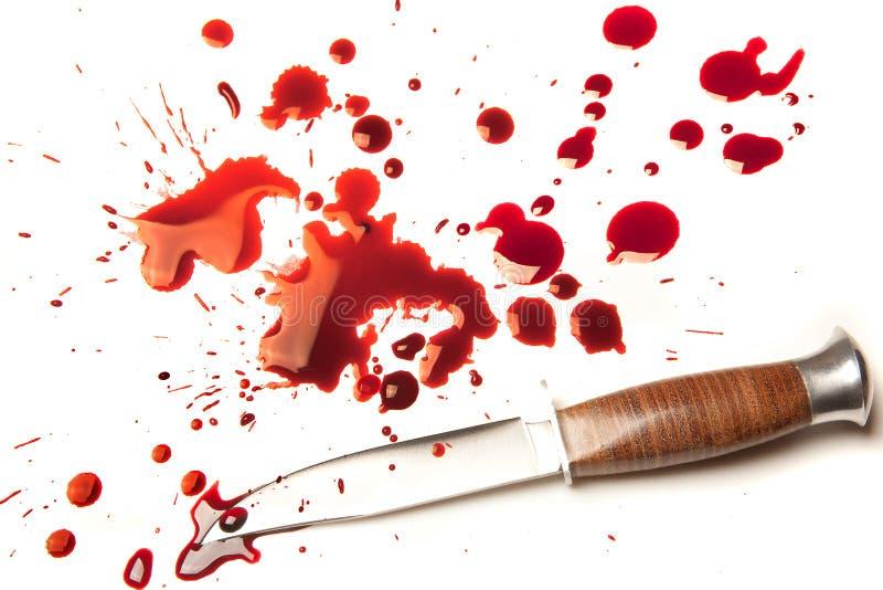 нож убийцы стоковое изображение