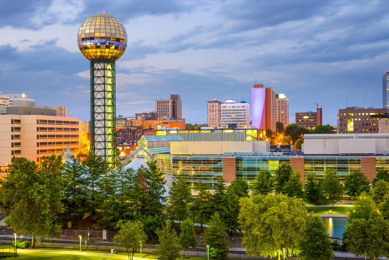 Ноксвилл, Теннесси, США стоковая фотография