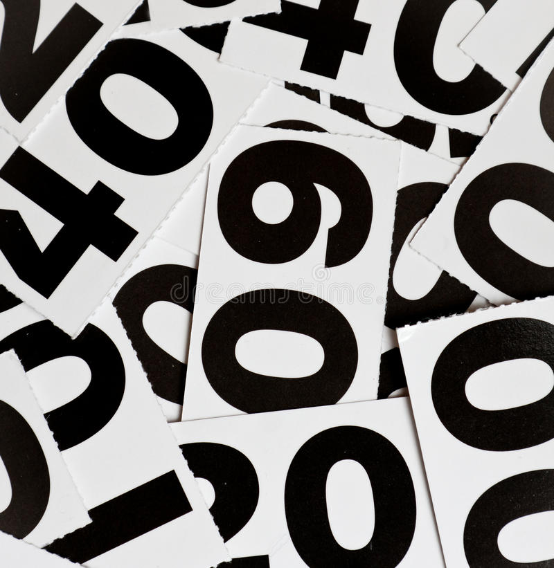 номера стоковые изображения