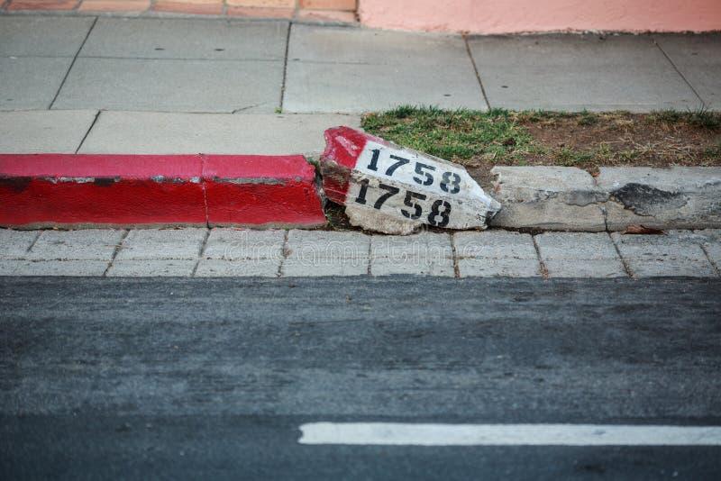 Номер улицы стоковые фото