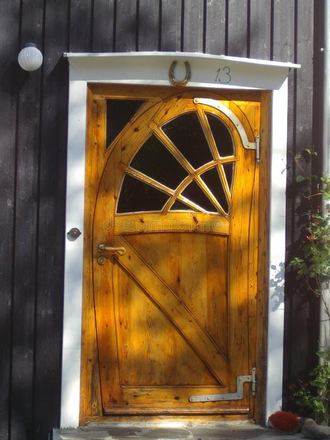 номер 13 дверей стоковая фотография rf