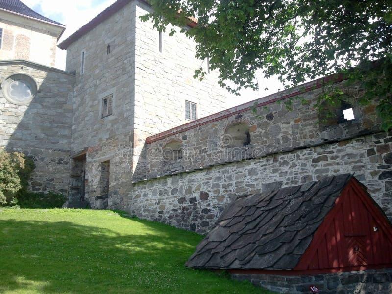 Норвежская крепость стоковые фотографии rf