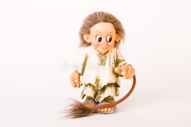 норвежский troll стоковые изображения