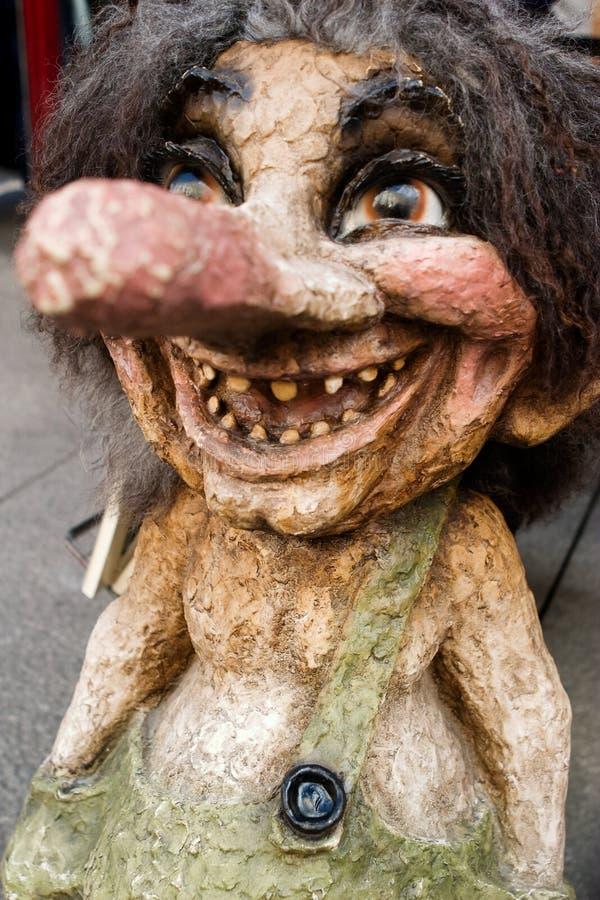 норвежский troll стоковые фото