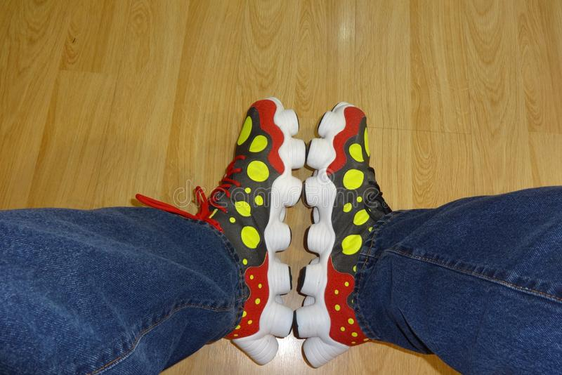 Нормальные ботинки стоковое фото rf