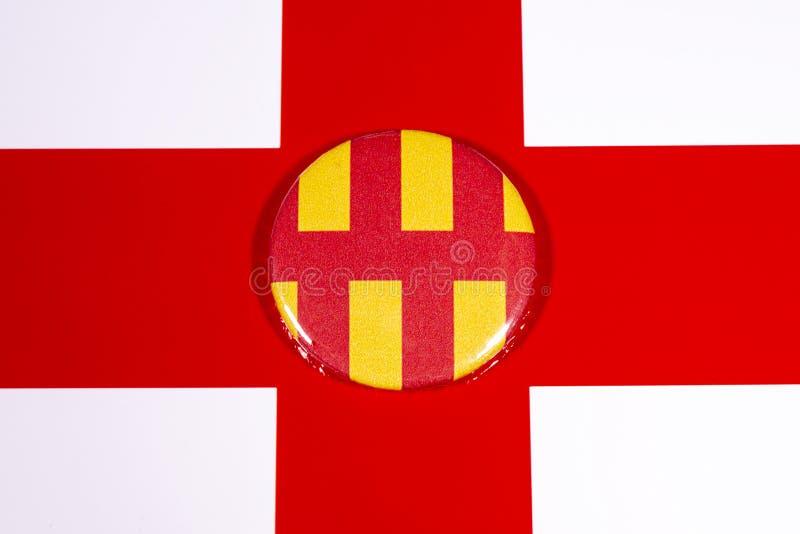 Нортумберленд в Англии стоковые фотографии rf