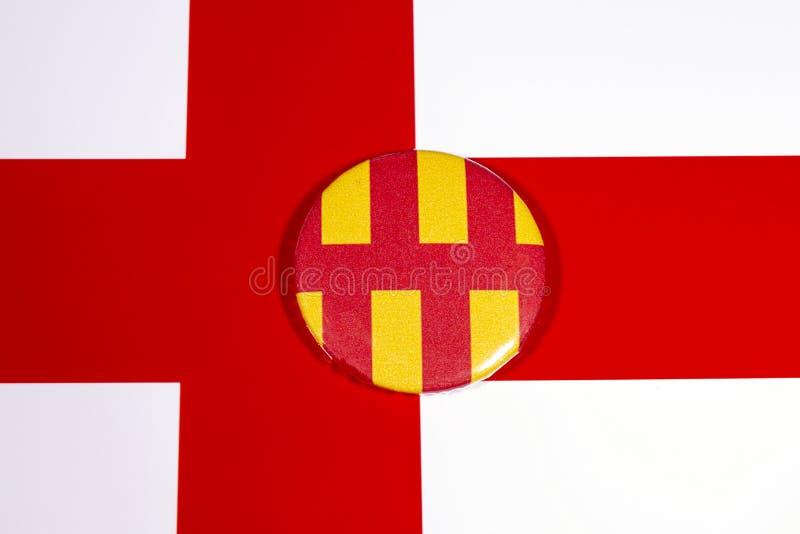 Нортумберленд в Англии стоковое изображение rf