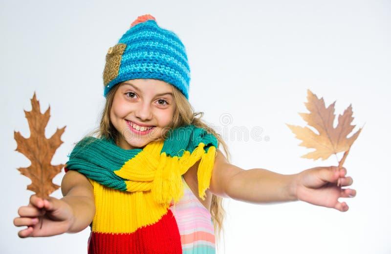 Носки стороны волос девушки предпосылка белизны шляпы и шарфа длинной счастливой яркая связанная Как ввести красочный аксессуар в стоковое изображение