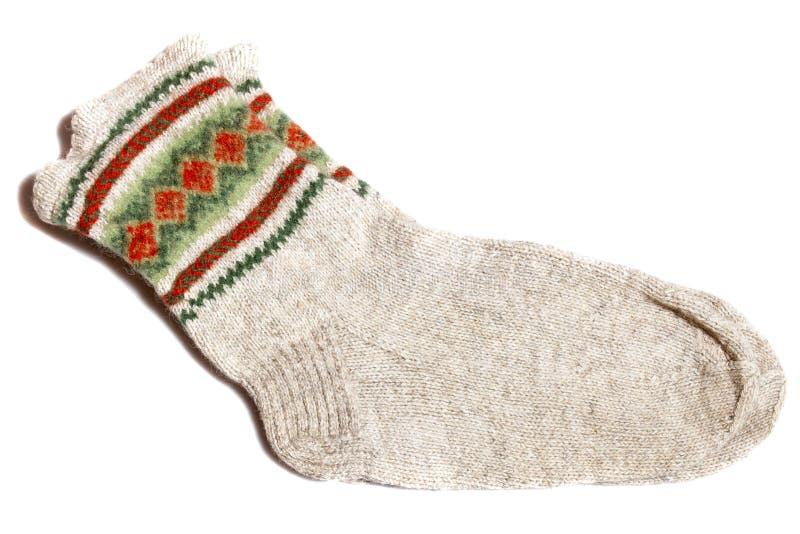 Носки шерстей стоковые фото