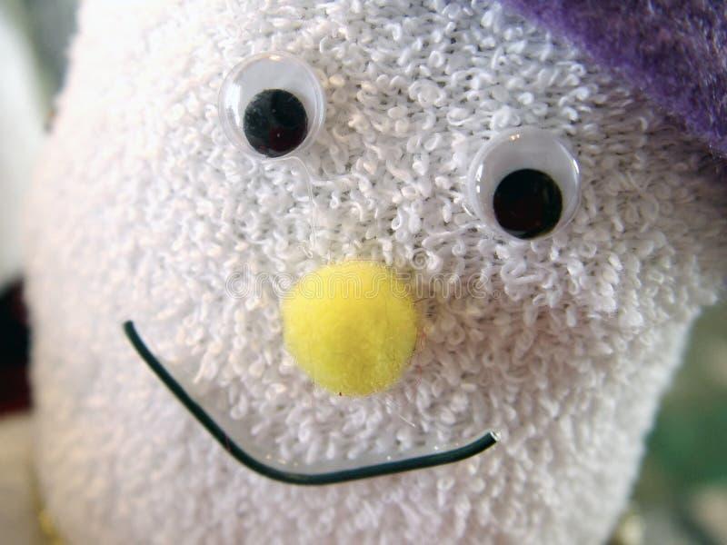 носок снеговика Стоковые Фото