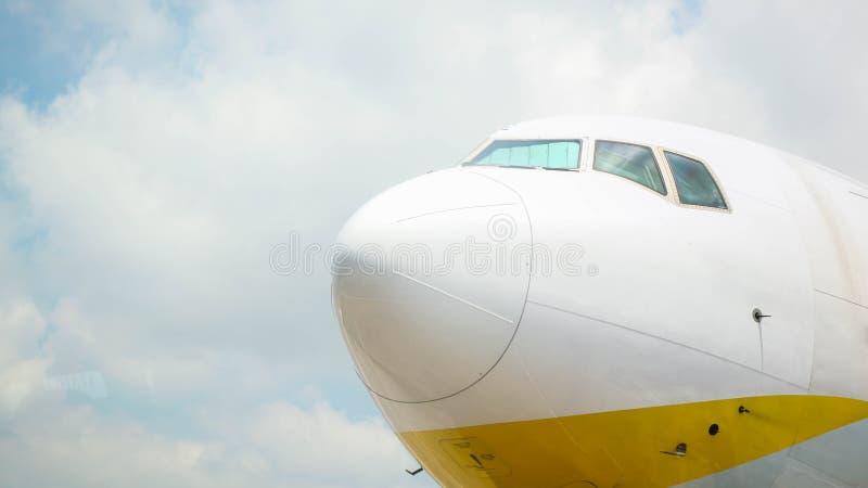 Нос самолета стоковая фотография rf