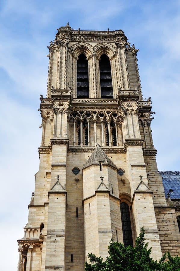 Нотр-Дам de Париж в мае 2014 стоковое изображение rf