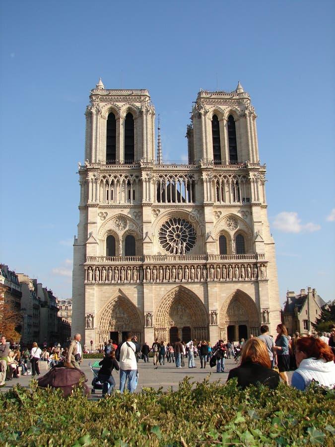 Нотр-Дам de Париж, Париж, Франция стоковое фото rf