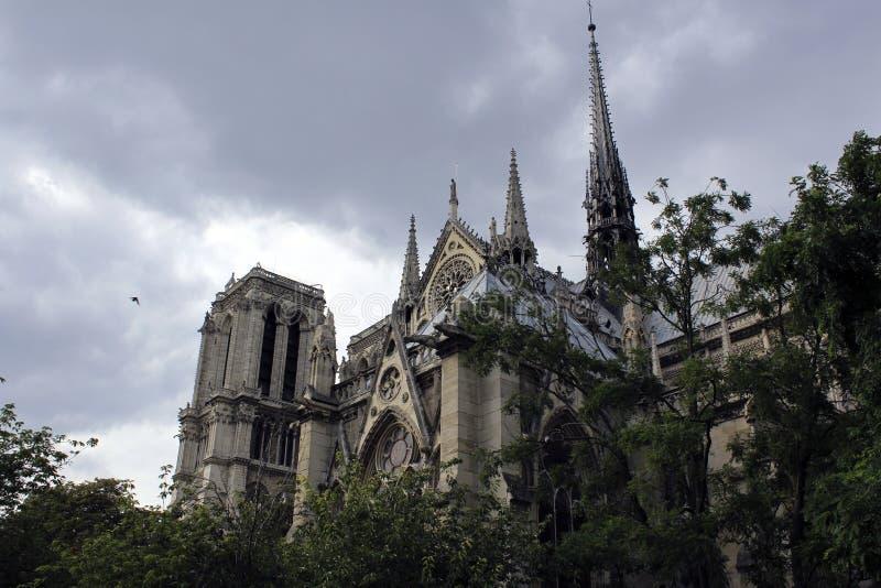 Нотр-Дам de Париж стоковые фотографии rf