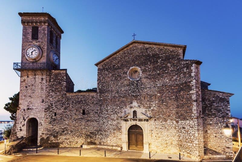 Нотр-Дам de l'Esperance Церковь в Канн стоковые фотографии rf