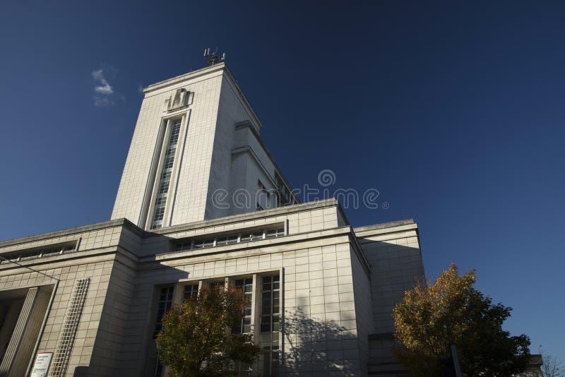 Ноттингем, Ноттингемшир, Великобритания: Октябрь 2018: Здание Ньютона стоковое изображение rf