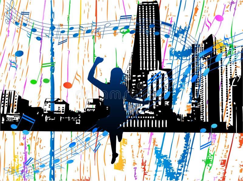 нот города бесплатная иллюстрация
