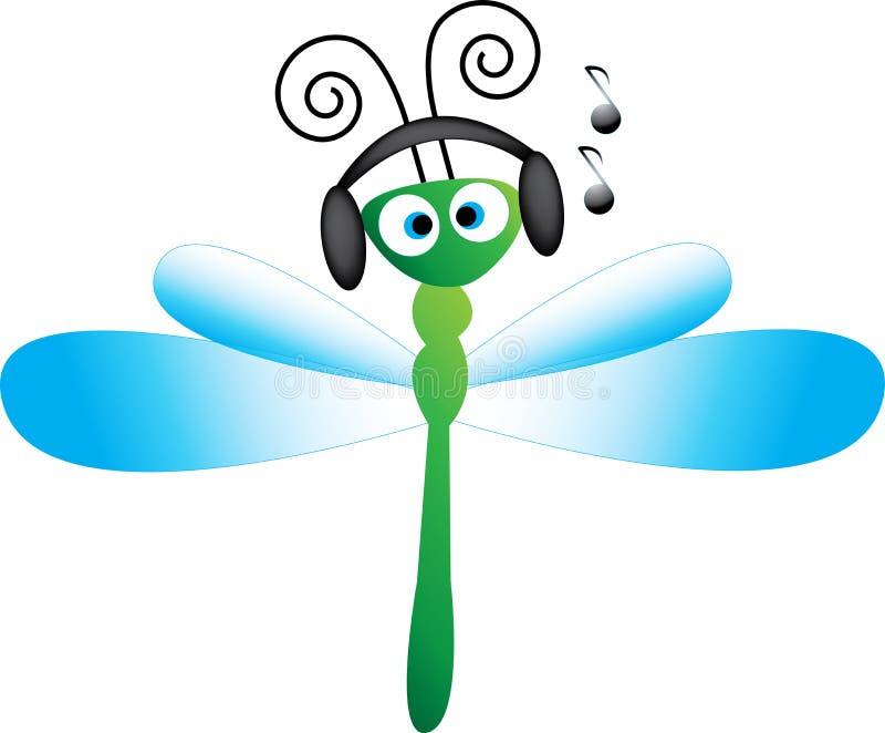 нот мухы дракона иллюстрация штока