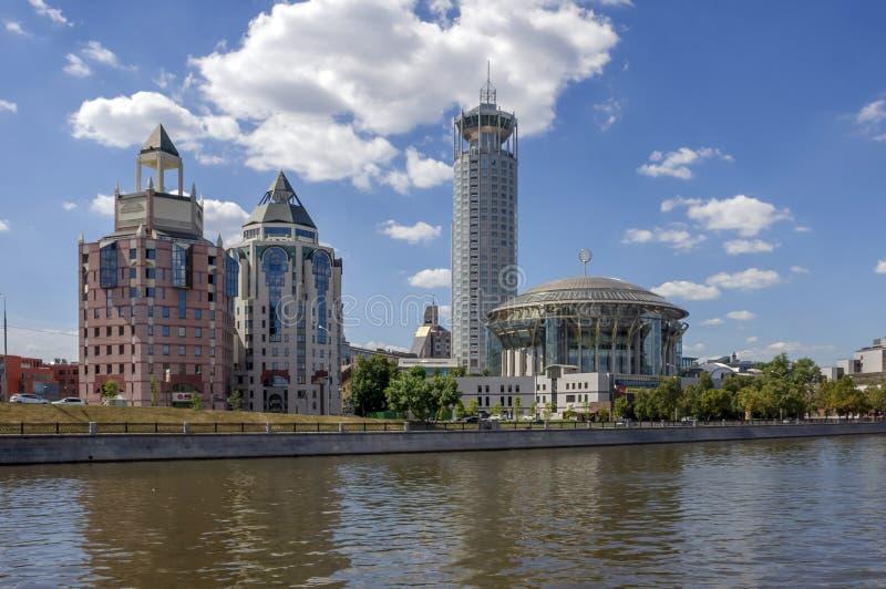нот moscow дома международное стоковая фотография rf