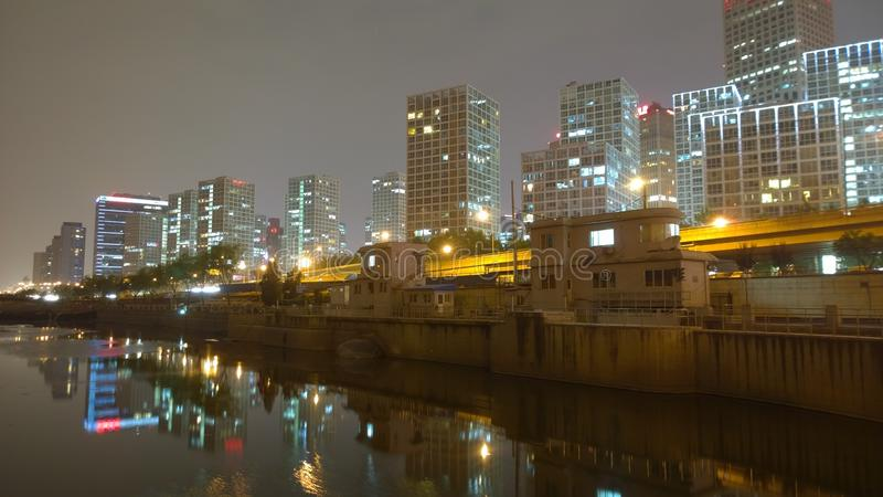 ноча 夜景 åŒ-京 стоковое фото