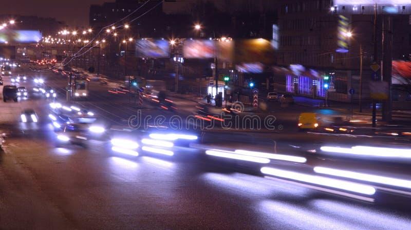 ноча автомобилей стоковые фото
