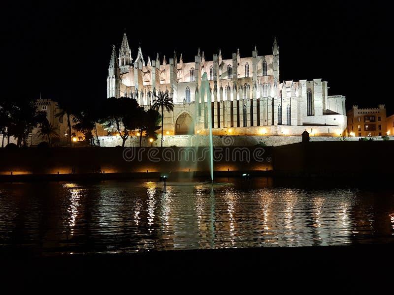 Ноча в Мальорке стоковое изображение rf