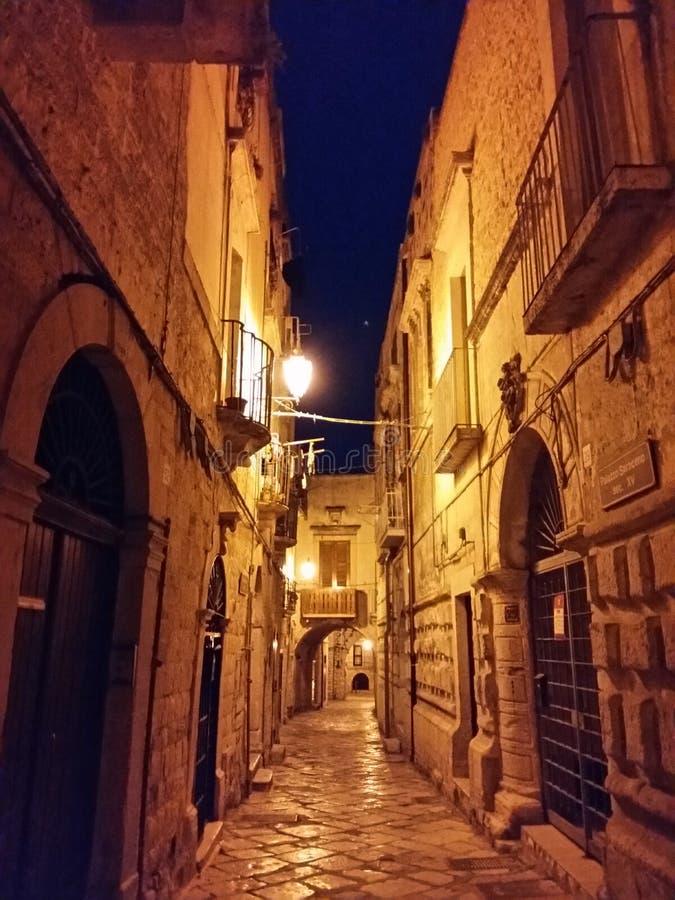 ноча города старая стоковые изображения