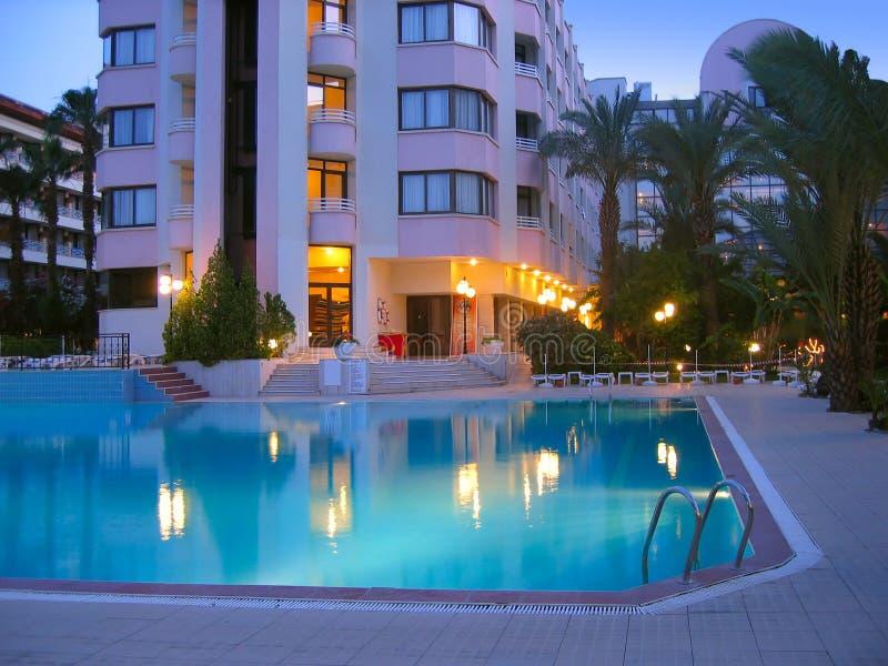 ноча гостиницы стоковая фотография