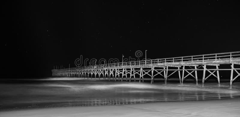 Ноча звезды светлая стоковая фотография