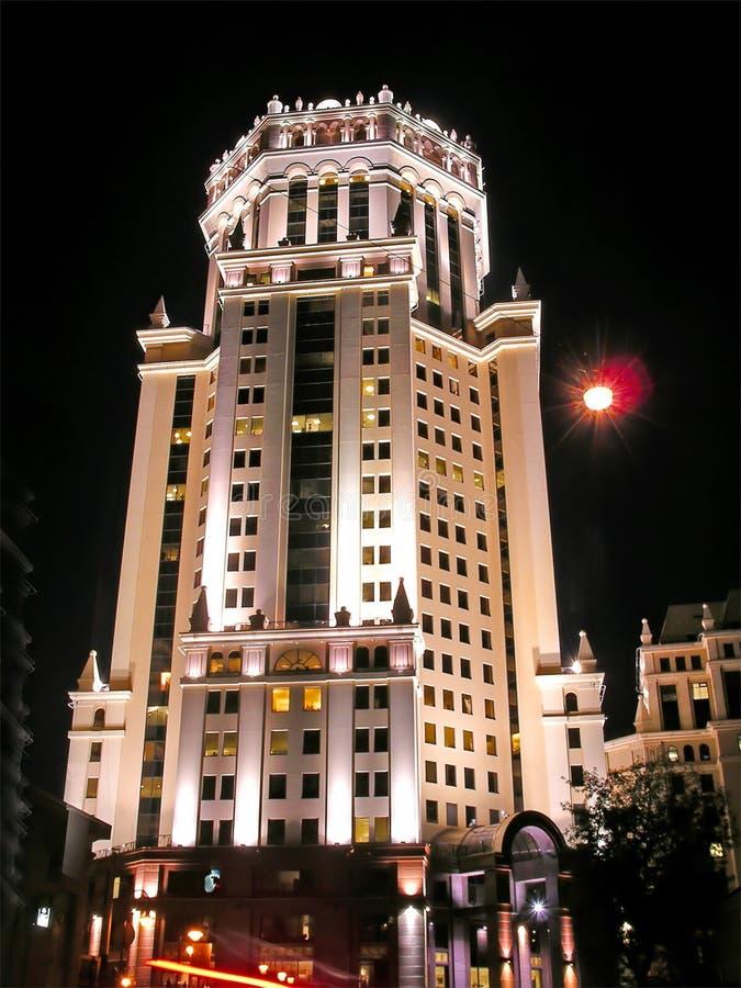 ноча здания стоковое фото