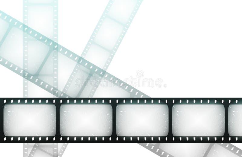 ноча кино наматывает экстренныйый выпуск бесплатная иллюстрация