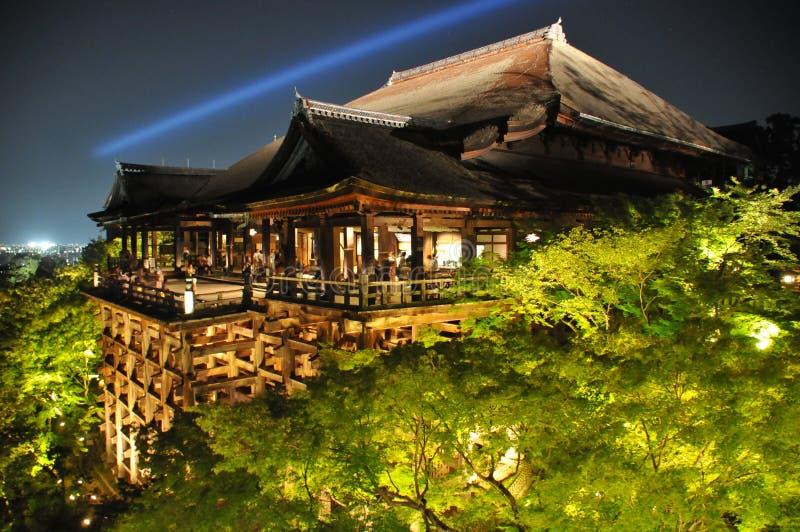 Ноча 1 Киото стоковая фотография rf