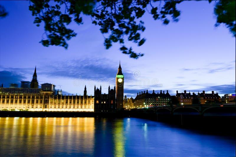 Ноча Лондона стоковые изображения