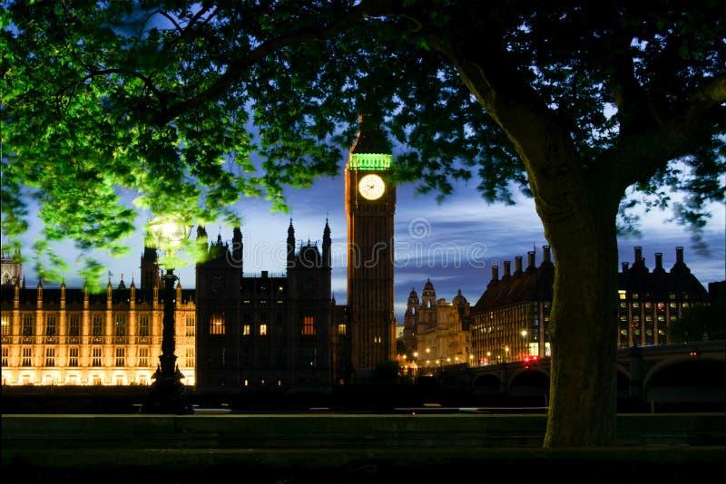 Ноча Лондона стоковое фото
