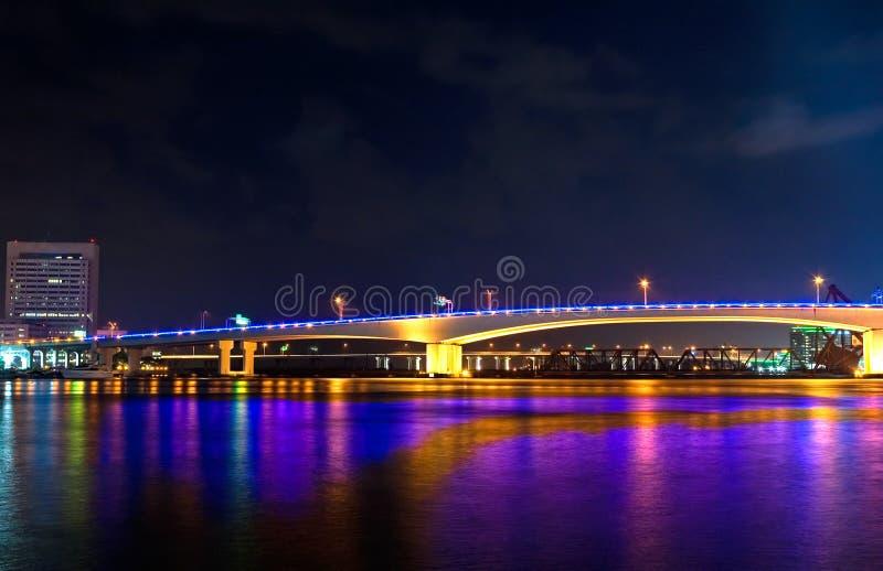 ноча моста стоковые изображения rf