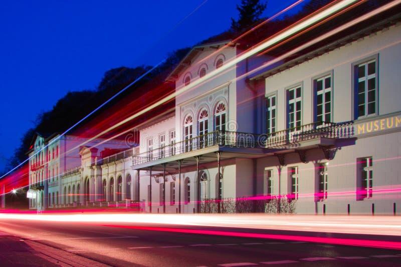 Ноча на музее стоковое фото rf