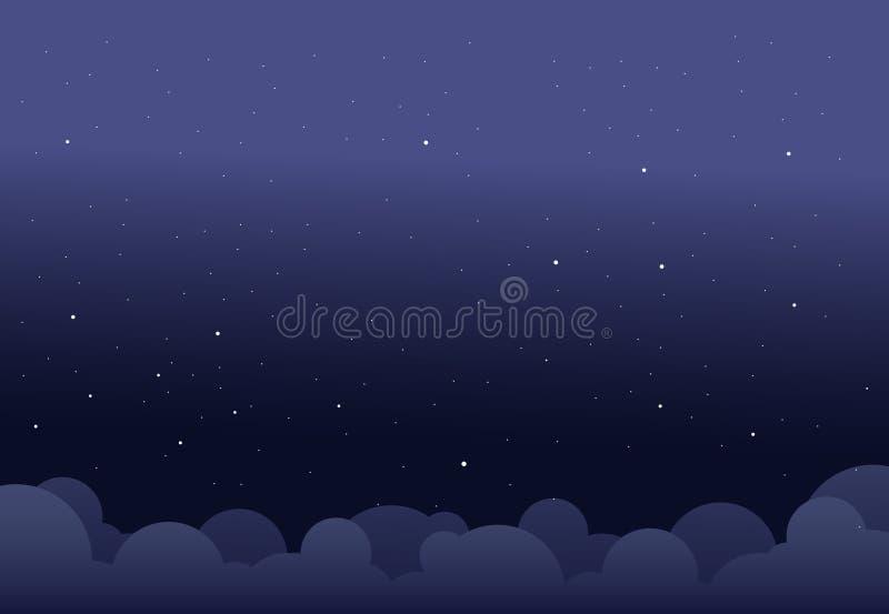 Ноча неба стоковое изображение rf