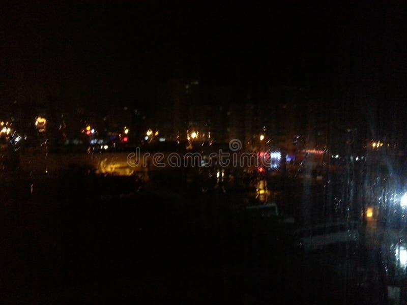 ноча ненастная стоковые изображения rf