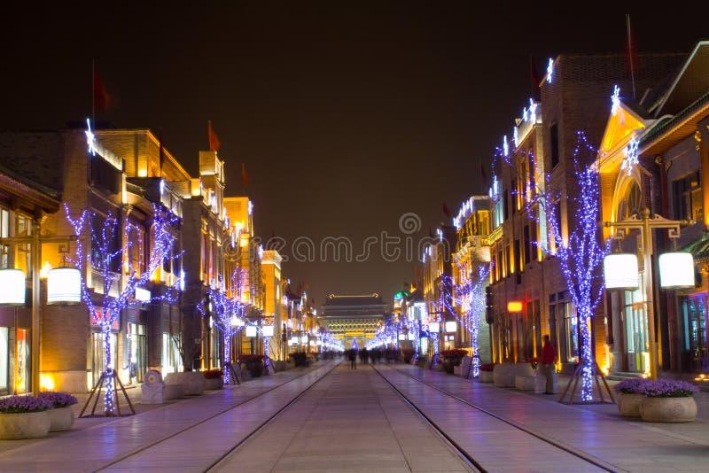 ноча Пекин стоковое изображение