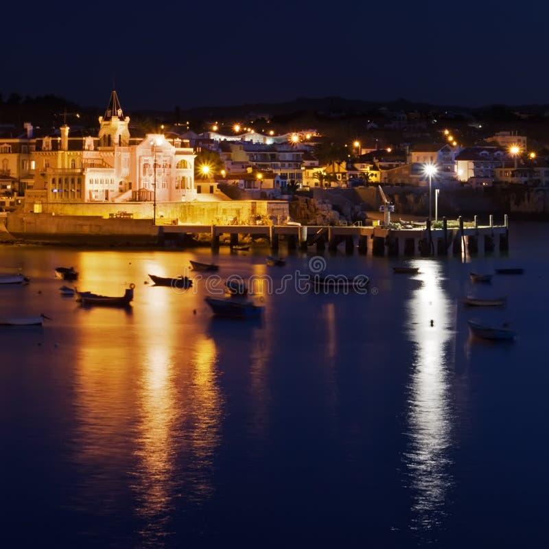 ноча Португалия стоковые фотографии rf