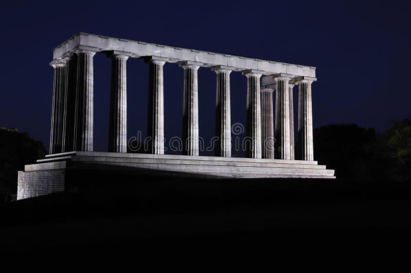 ноча соотечественника памятника стоковые изображения rf