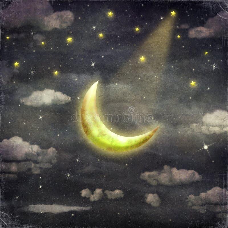 ноча луны играет главные роли время бесплатная иллюстрация
