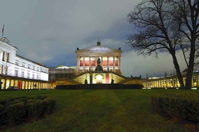 ноча штольни berlin старая стоковое фото rf