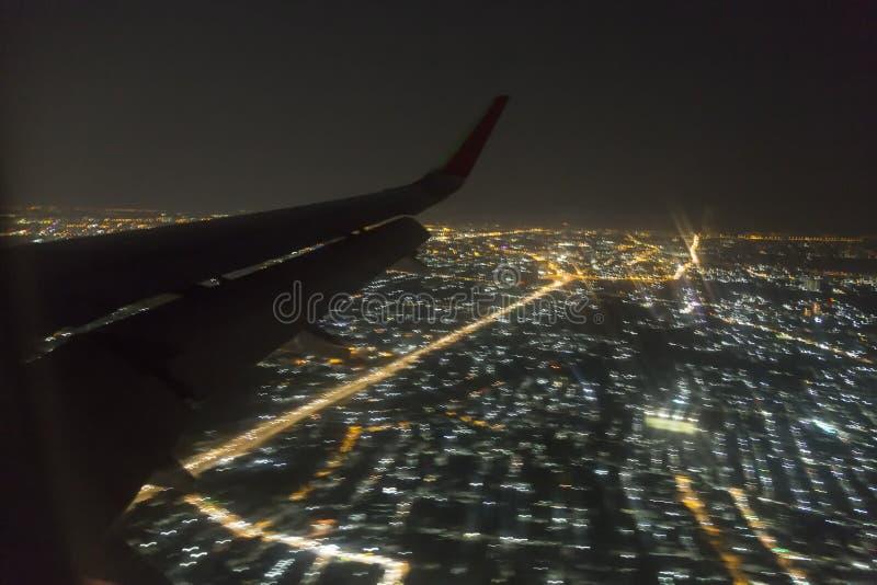 Ноча anding стоковые фотографии rf
