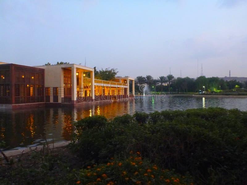 Ноча Azhar Al стоковые фотографии rf