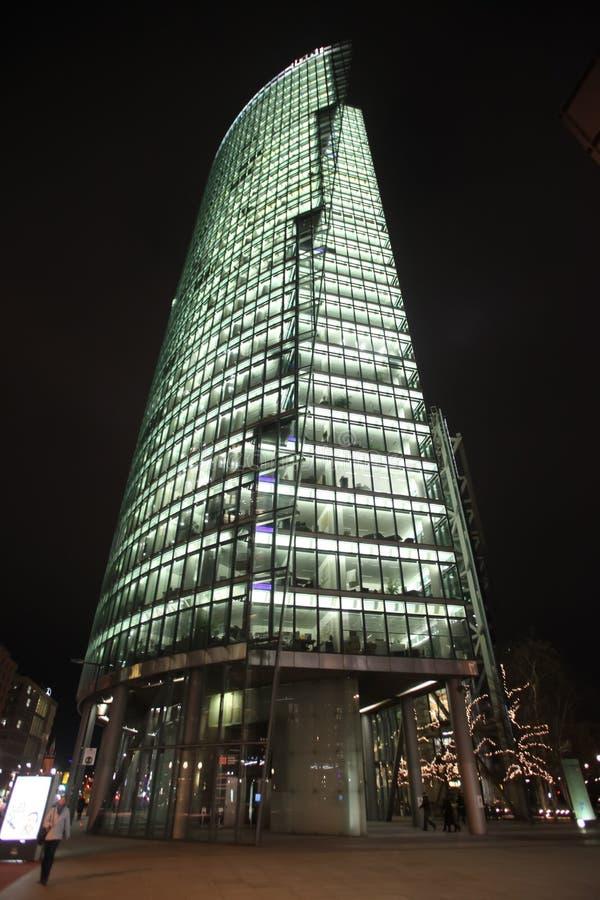 ноча berlin стоковая фотография