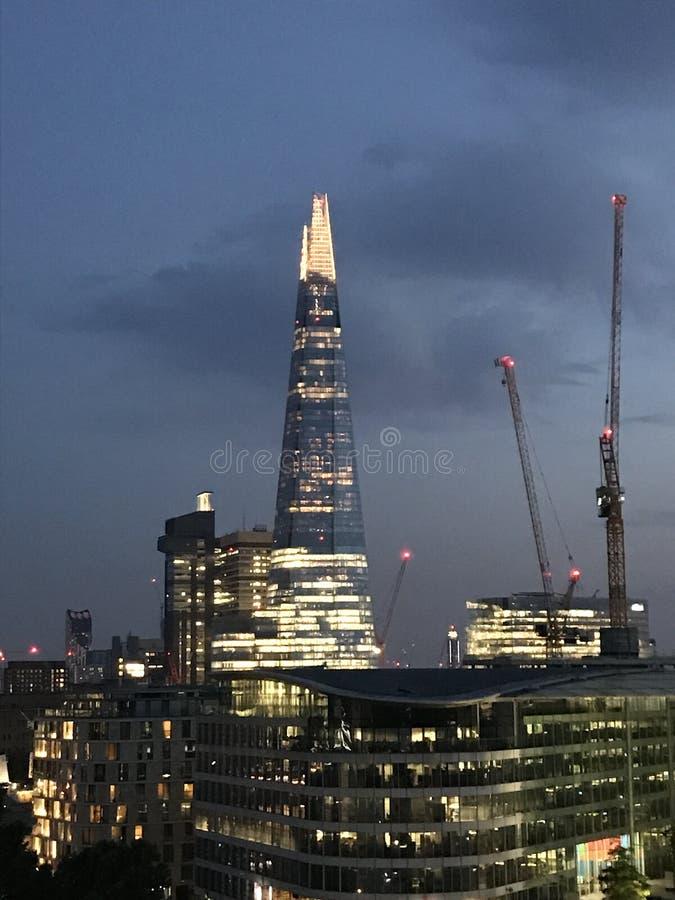 ноча london стоковая фотография