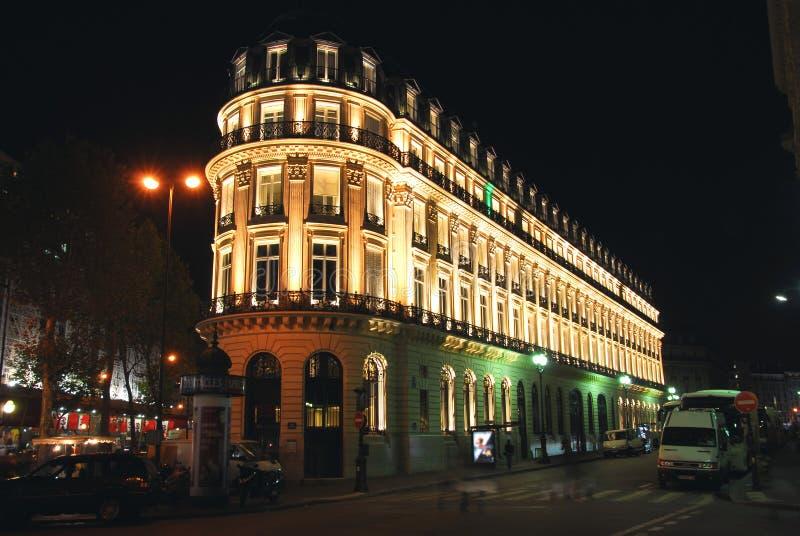 ноча paris стоковые фотографии rf
